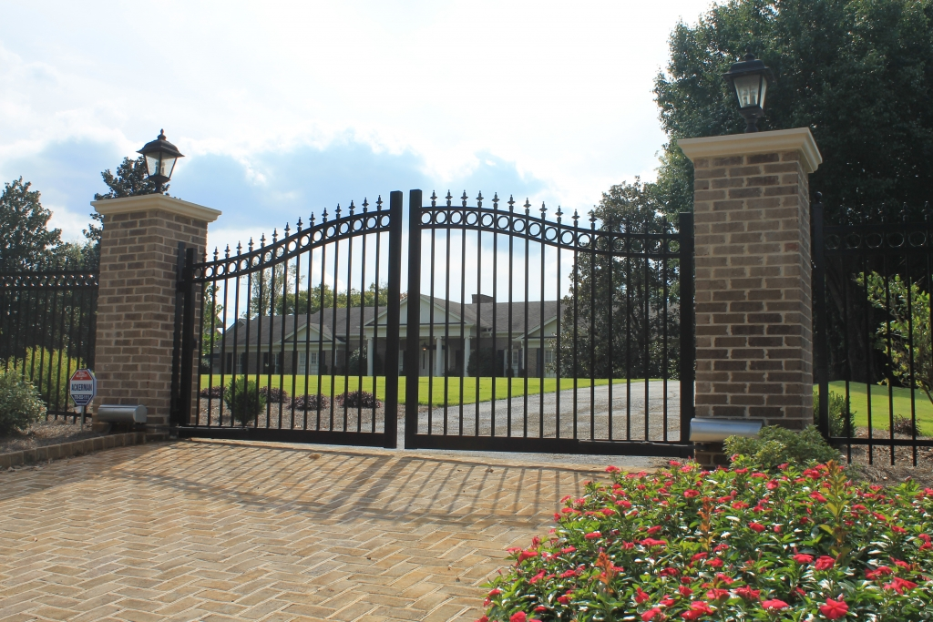 Access Control Estate Gates Accurate Fence Atlanta