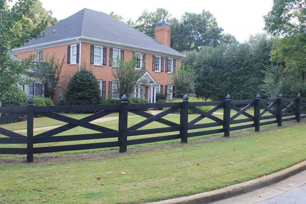 wooden farm fence. Wooden Farm Fence
